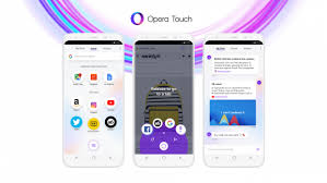 Opera Touch Pro v1.10.2 Apk Free Download Fast Browser