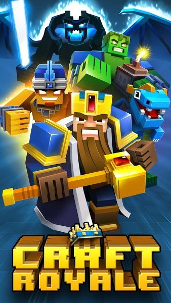 Craft Royale Clash of Pixels v3.41 Mod Apk Free Download For Android