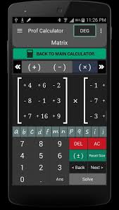 Prof Calculator v2.2 APK for Android Free Download