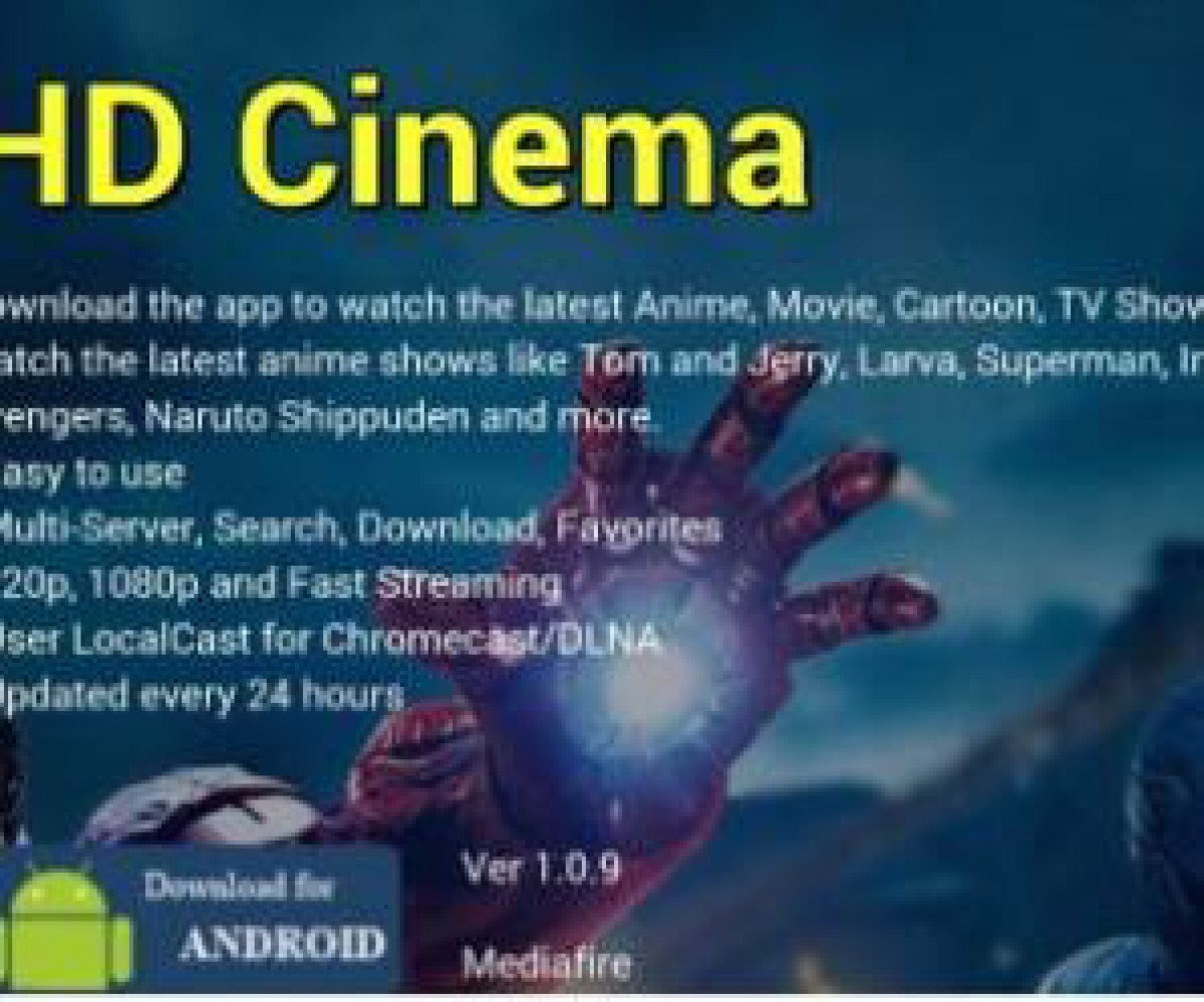 HD Cinema 1.5 Mod Apk Add Free Download for Android