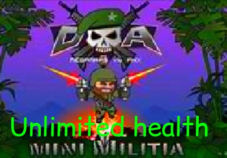 Mini Militia Unlimited Health Hack APK Cracked MOD Free Download